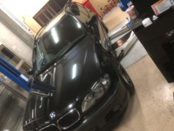 BMW E46 ロアアームブッシュ交換のサムネイル