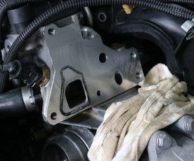 F20 135 N55エンジン オイル漏れ修理