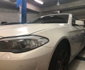BMW 523D F11 車検 ATF交換