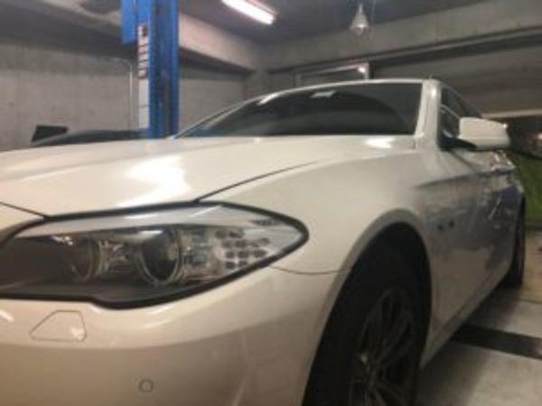 BMW 523D F11 車検 ATF交換のサムネイル