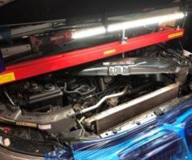 BMW E60 540i  N62 オイル漏れ 修理