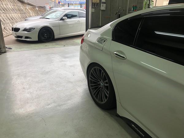 BMW F10 M5 の白煙トラブル S63のサムネイル