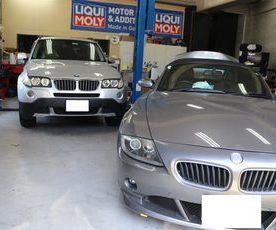 BMW E85 Z4 電動ソフトトップ動かない修理