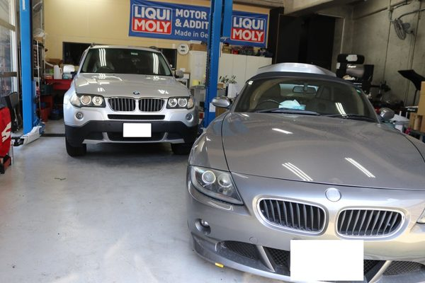 BMW E85 Z4 電動ソフトトップ動かない修理のサムネイル