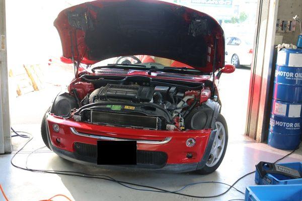 BMW ミニ R52 加速不良の修理のサムネイル