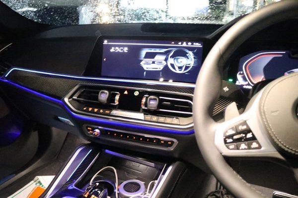 BMW G06 X6 インターフェースの取付のサムネイル