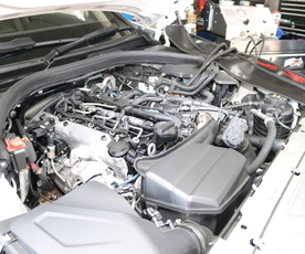 G20 320D 新車1年落ちのお車のメンテナンス