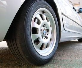E46 318I 点検とタイヤ交換